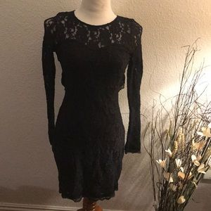 The Express lace dress